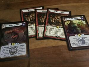 Legend of the five rings CCG - 5 cards inc 2 foils