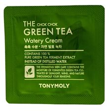 [TONYMOLY]The+Chok+Chok+Green+Tea+Watery+Cream 1ml Sample 20pcs