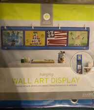 Sale! New! Kids Blue Hanging Wall Art Display, Art, Pictures, Report Cards, Etc.