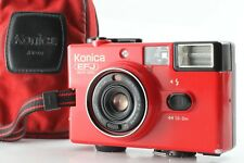 【N MINT w/ CASE 】Konica EFJ RED Auto Date Hexanon 36mm f/4 Lens  From Japan 365