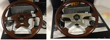 Wot wood steering wheel Momo 4 spoke + HUB K 5509 Lancia Thema Fiat croma