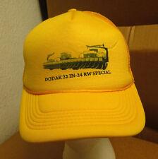 DODAK FARMS trucker cap IN-24 RW SPECIAL snapback 1980s hat Michigan farming