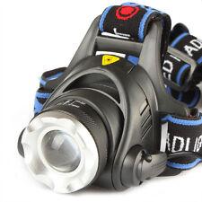 2000Lm impermeable CREE XML T6  Zoom LED linterna de cabeza ajustable deportes*