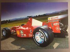2001 Ferrari F1-2001 Formula 1 Race Car Print Picture Poster RARE!! Awesome L@@K