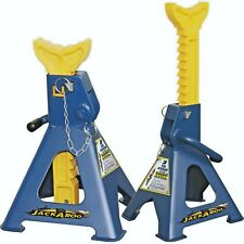 2 X  3 TON Car Jack Stand, Adjustable Rachet Jack Stand with extra safe Pin