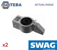 2x SWAG REAR CONTROL ARM WISHBONE BUSH 30 93 8663 G NEW OE REPLACEMENT