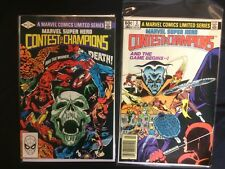 Marvel Super Hero Contest of Champions #2 And #3 1982 Marvel Comics