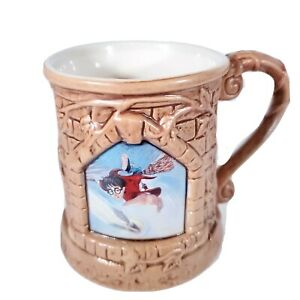 Harry Potter and The Sorcerer's Stone Coffee Mug Cup Vintage New Old Stock Rare