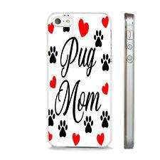 Nueva cita de Pug mamá Amor Perros Lindo teléfono caso tapa se ajusta APPLE IPHONE.
