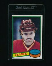 1980-81 Topps Scratched #45 Guy Chouinard Flames Hockey signed autograph tough