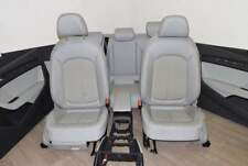 Audi A3 8V 12-15 Asiento de tela con 3 puertas / de cuero Apoyabrazos gris de ti
