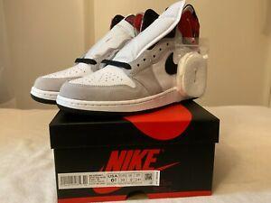 Nike Air Jordan 1 Retro High OG Light Smoke Grey 555088-126 DS DEADSTOCK NEW DS!
