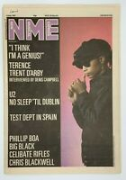 NME 4 July 1987 Terence Trent D'arby U2 Test  Dept Phillip Boa Big Black