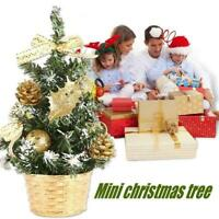 20cm Christmas Trees Decor Small Pine Tree Placed In Party Decor Desktop Q6Y9