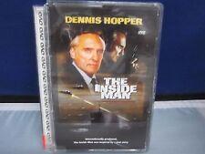 The Inside Man Dennis Hopper 1984 dvd in it's old heavy case Super FastShipping+