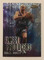1999-00 Finest Producers Charles Barkley #FP10 NBA Rockets NM+