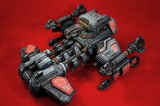 StarCraft 2 Terran Human Battlecruiser DIY Handcraft Paper Model Kit 13cm Tall