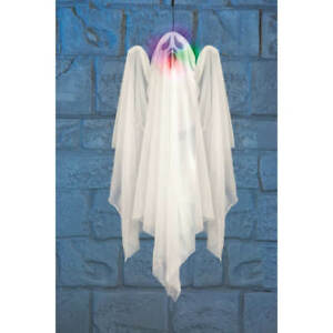 Light-Up Spinning Ghost for Halloween with Sound -  FREE POSTAGE