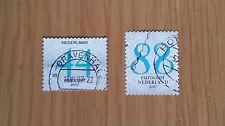 Complete used Nederland / Netherlands stamp set - 2007 standard letter