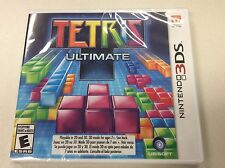 Tetris Ultimate NINTENDO 3DS DS GAME TETRIS ULTIMATE BRAND NEW & FACTORY SEALED