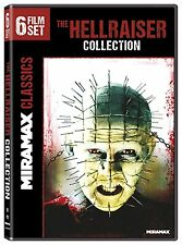 HELLRAISER : THE COLLECTION (6 movies) - DVD - Region 1