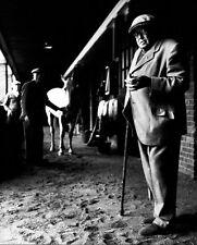 HORSE BREEDER F AMBROSE CLARK PORTRAIT 8x10 SILVER HALIDE PHOTO PRINT