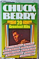 Cassette Chuck Berry 20 Greatest Hits Alternate (But Good) Versions TESTED