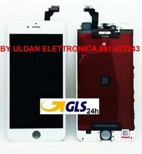 TOUCH SCREEN LCD DISPLAY RETINA PER APPLE IPHONE 6 PLUS VETRO SCHERMO BIANCO