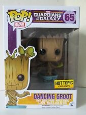 Funko Pop Hot Topic Exclusive Marvel Guardian of the Galaxy Dancing Groot Figure