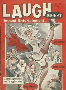 Humorama Laugh Digest April 1966  Bill Wenzel Bill Ward Cheesecake VF