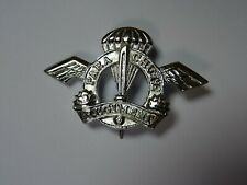 INDIA Parachute Regiment beret badge, silver metal