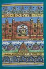 KING HENRY  THE 8TH COTTON TEA TOWEL BY EMMA BRIDGEWATER