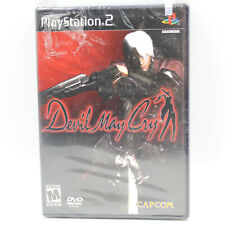 PS2 Devil May Cry, 1st Print Factory Sealed Sony Playstation 2 Black Label 2001