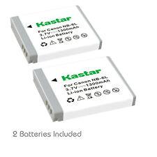 Kastar NB-6L NB6LH Battery for Canon PowerShot SX600 HS D30 SX600 SX610 SX700 HS