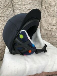 RIDING HAT EAR WARMERS - VARIOUS COLOURS