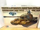 Tamiya 1/16 RC German King Tiger Heavy Tank #56004 Radio Control Tiger II