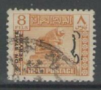 IRAQ SGO236 1941 8f YELLOW USED