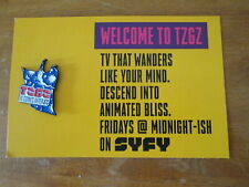 SYFY TZGZ Blue wizard pin NYCC 2019 TZGZ it comes after SYFY