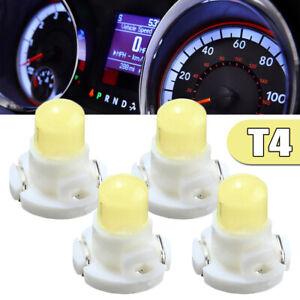 4x T4 White LED Neo Wedge Climate Base Car Instrument Panel Lamp Dash Bulb Light