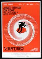 Manifesto Vertigo El Mujer Che Vivió Dos Veces Alfred Hitchcock Kim Novak P15