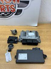 BMW MINI R56 R57 ONE COOPER 1.6 N12B16A ENGINE ECU CAS KEY LOCK SET DME 7589971