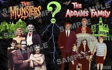 Munsters / Adams Family Fan Made POSTER print 11 X 17