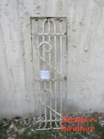 Antique Victorian Iron Gate Window Garden Fence Architectural Salvage #722