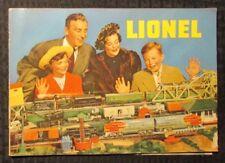 1949 LIONEL TRAINS & Accessories Catalog 40pgs VG+ 4.5 Railroad