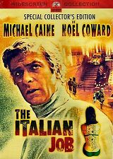 NEW DVD // THE ITALIAN JOB // Michael Caine, Noël Coward, Benny Hill, Raf Vallon