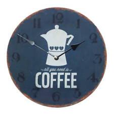 """Reloj de pared 30cm con fijación en Madera Café Diseño"""" TODO LO QUE NECESITAS ES"""