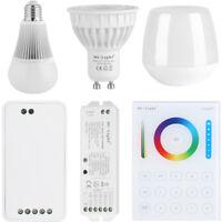 Wifi RGBW W/WW E27 GU10 LED Light Dimmable RGB Bulb Lamp 2.4G Wireless Milight