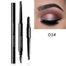 3 in 1 Multi Functional Eye Brow Pencil Powder Brush Kit Makeup Tools Beauty 03#dark Coffee