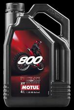 Motul 800 2T Pro Racing Premix 4-Lit Er 104039