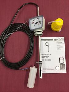 Afriso Grenzwertgeber mit Tankuhr GWG 12 K/MT & 5m Kabel für Kellertank / Öltank